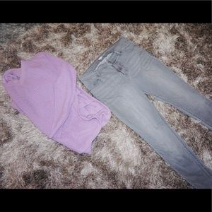 Gray Old Navy Jeans
